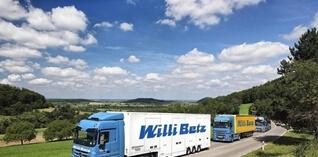 Willy Betz optimaliseert vloot met Transics-oplossingen