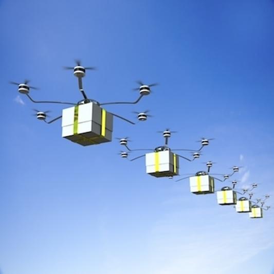 Pakjeslevering met drones nog een fabel volgens het VIL