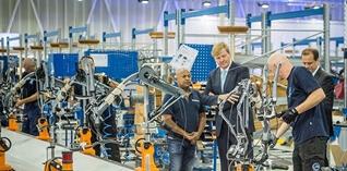 Gazelle stroomlijnt aanvoer van onderdelen in nieuwe montagehal