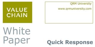 White Paper Quick Response Manufacturing