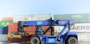 Multimodal Container Service krijgt twee nieuwe reachtstackers