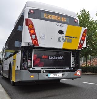 Leclanché maakt lithium-ion cellen en batterijen voor onder meer autobussen