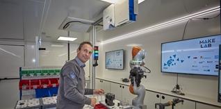 Mobiel lab brengt Industry 4.0 naar de werkvloer