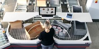 Automatische material handling systemen met groen randje