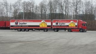 AB InBev was pionier in België door gebruik te maken van de ecocombi, de LZV (Lange en Zwaardere Vrachtwagencombinatie), die meer vracht kan en mag vervoeren dan een gewone vrachtwagencombinatie.