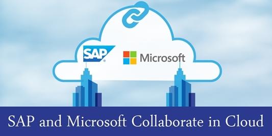 SAP en Microsoft bundelen de krachten op cloudgebied