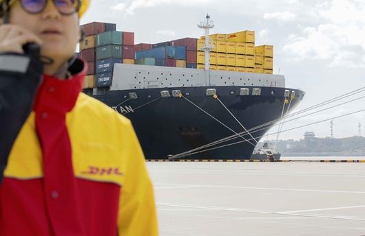 Ocean View van DHL biedt real-time zicht op zeevracht