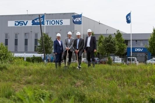 DSV breidt uit met 83.000m² warehouse in Venlo