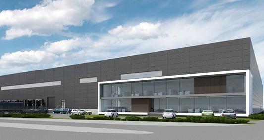 Eindhoven krijgt XXL multifunctioneel logistiek gebouw