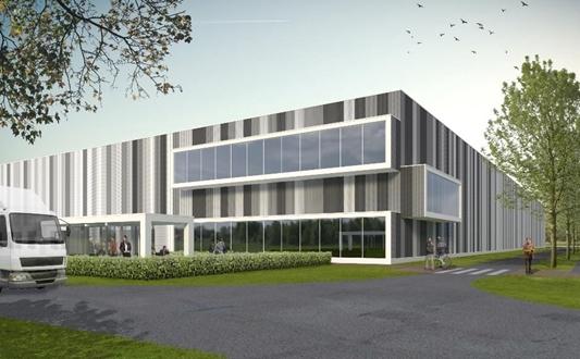 WDP en Thys Bouwprojecten realiseren nieuwbouwmagazijn voor Estée Lauder in Westerlo