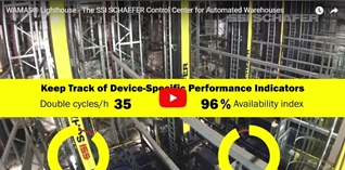 WAMAS® Lighthouse - The SSI SCHAEFER Control Center for Automated Warehouses