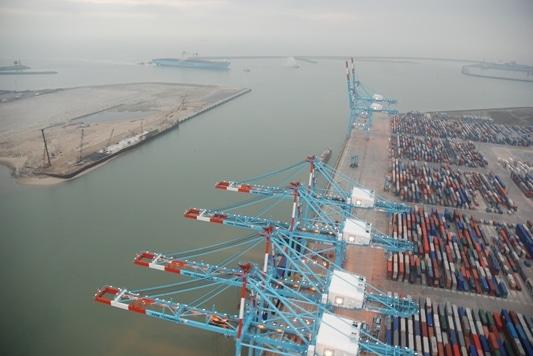 Samenwerking in de haven