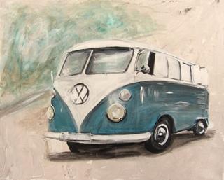 Tijdens een bezoek aan Duitsland in 1947 kwam Ben Pon, importeur van Volkswagen Nederland, op het idee. In de fabriekshal waar de VW Kever wordt geproduceerd zag hij een platte wagen rijden. Hij schetste de wagen en voegde er nog een dak aan toe. Zo ontstond de Bulli.