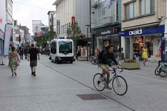Samenwerking nodig voor slaagkans autonome stadslogistieke voertuigen