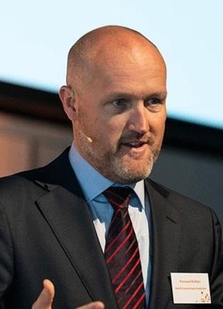 Fernand Rutten, partner in Global Trade Advisory bij Deloitte, demonstreerde een blockchain-toepassing onder de vorm van een app die door startup Seal Network werd ontwikkeld om namaak te detecteren.