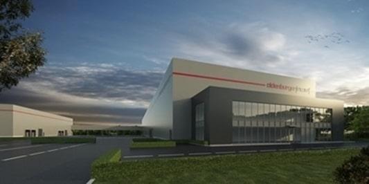 Oldenburger|Fritom bouwt BREEAM Outstanding distributiecentrum