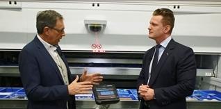 Kanaal Z interviewt Vanas Engineering over hun logistieke oplossingen