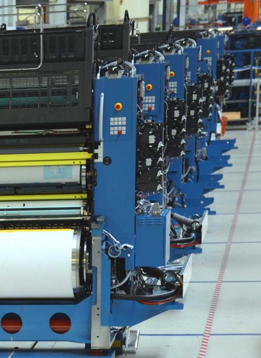 Koenig & Bauer implementeert vloerkettingbaansysteem van Dematic
