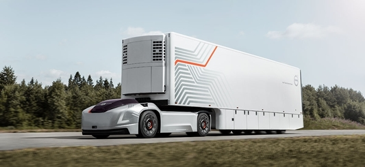 Volvo Trucks presenteert zelfrijdende elektrische voertuigen