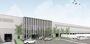 WDP bouwt dc van 55.000m² voor Lidl in Breda