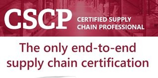 The APICS Certified Supply Chain Professional (CSCP) training