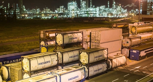 Alders Transport participeert in Haesaerts Intermodal