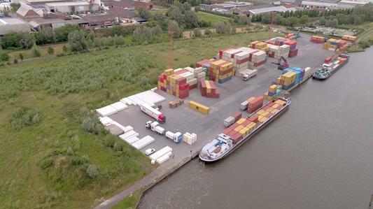 River Terminal Wielsbeke bestendigt duurzame overslag