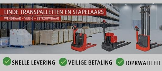 Motrac Handling & Cleaning biedt Linde magazijntrucks en merchandising online aan