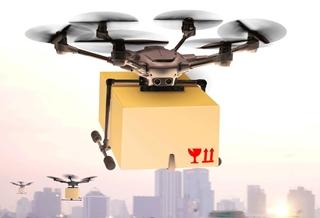 Hoewel het nog wel even zal duren voordat drones onze pakketjes aan de deur bezorgen, bereiden aanbieders zich toch al volop op dat moment voor.