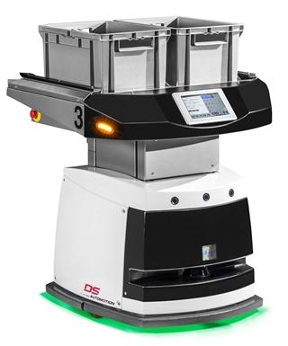 Ook op het vlak van mobiele robots breidt SSI Schaefer zijn competenties uit. Daarvoor heeft de aanbieder een partnership gesloten met DS Automotion.