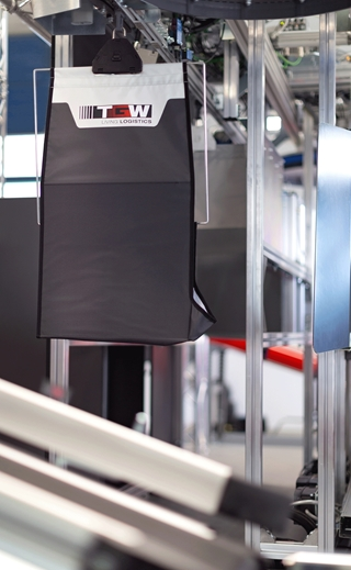 De OmniPick kan diverse producten transporteren, bufferen, opbergen, sorteren en verdelen. Op die manier kan het volledige orderverwerkingsproces, van orderontvangst tot verzending, worden geautomatiseerd.