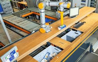 De SIR (Smart Item Robotics) is gebaseerd op een collaboratieve robot die met mensen kan samenwerken. Een voordeel is dat hij in staat is verschillende producten te verzamelen zonder SKU-teaching. Camera's vanuit verschillende perspectieven helpen hem daarbij.