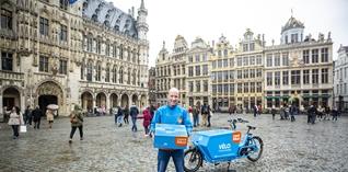 Coolblue start eigen bezorgservice per fiets in Brussel, Zaventem en Vilvoorde