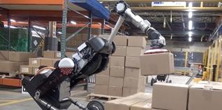 Boston Dynamics pakt uit met futuristische robots voor het magazijn
