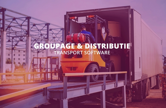 Groupage & distributie – Transport software