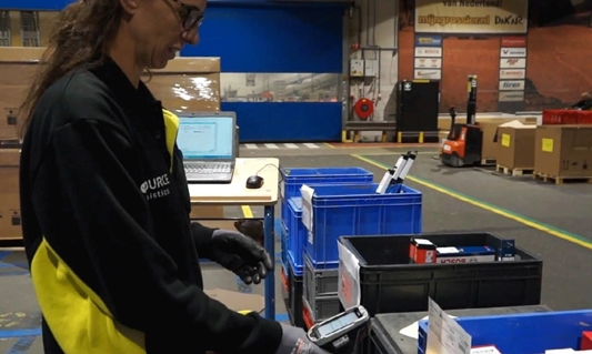 Dutch Car Parts Distributor Significantly Increases Dispatch Efficiency with Zebra's TC8000 Touch Mobile Computers