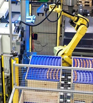 BMT Aerospace volgt de vele nieuwe ontwikkelingen in domeinen als robotisering op de voet.