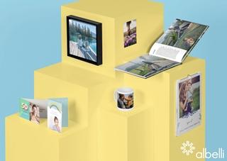 Vandaag levert Albelli producten aan meer dan vijf miljoen klanten in België, Duitsland, Frankrijk, Nederland, Noorwegen, het Verenigd Koninkrijk en Zweden. Tegelijk werd het gamma aan fotoproducten voortdurend uitgebreid. Albelli is gespecialiseerd in fotoboeken, maar verkoopt ook wanddecoratie, kaarten, fotoafdrukken, mokken en kalenders.