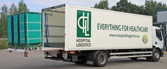 Razendsnel leveren? Traceerbaarheid verzekeren? Hospital logistics doet het met fit4logistics.