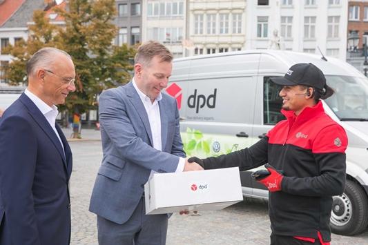 DPD rijdt elektrisch door Mechelen