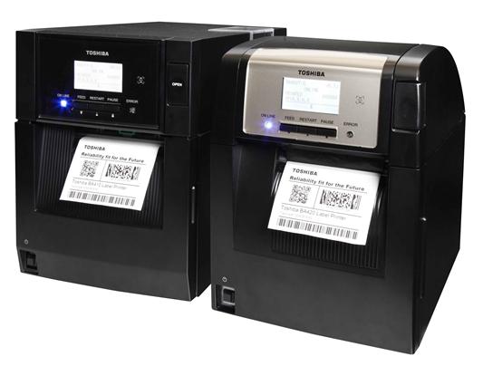 Toshiba vernieuwt mid-range barcodeprinters met BA400-serie