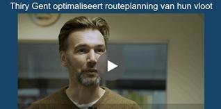 Thiry Gent optimaliseert routeplanning van hun vloot