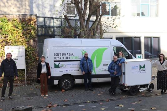 Stad Mechelen en VIL breiden proefproject voor duurzame stadslogistiek uit