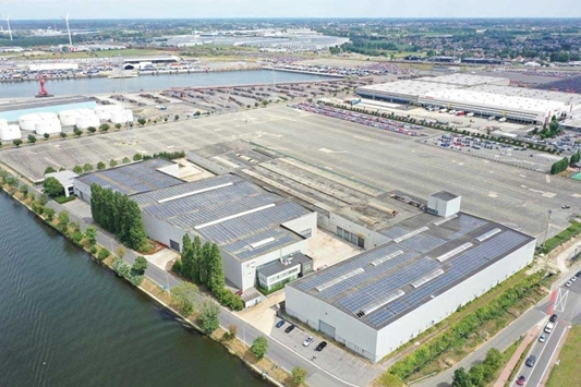 North Sea Port in Gent krijgt nieuw bedrijvenpark 'Hexaport'