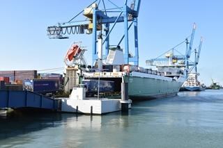 Naast het feit dat RS/SeaPort zorgt voor een vlotte digitale uitwisseling van gegevens, werd er op nog andere vlakken geoptimaliseerd. Zo is het Port Community System er samen met de douane-instanties in geslaagd de aanmelding van de schepen in Zeebrugge te vervroegen. (Foto ©p&o)