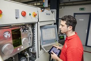 De 4.0 Made Real Pilot Factory van Sirris brengt diverse toepassingen van Industrie 4.0 in de praktijk.