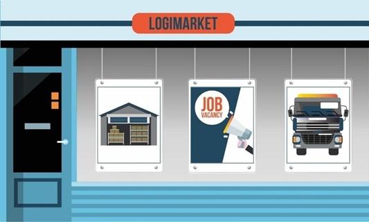 Logimarket: de nieuwe digitale marktplaats voor delen van capaciteit