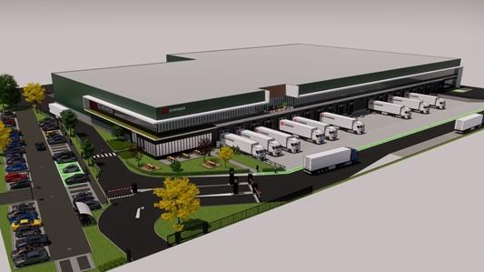 WDP realiseert logistiek nieuwbouwproject in Luxemburg  voor o.a. DB Schenker