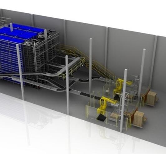 Dematic lanceert automatiseringsoplossing voor de proteïnemarkt