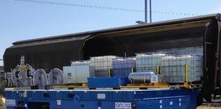 Lineas en Essenscia willen spoorvervoer in de chemiesector opdrijven